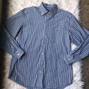 Vineyard Vines Plaid Button Down Casual Shirt